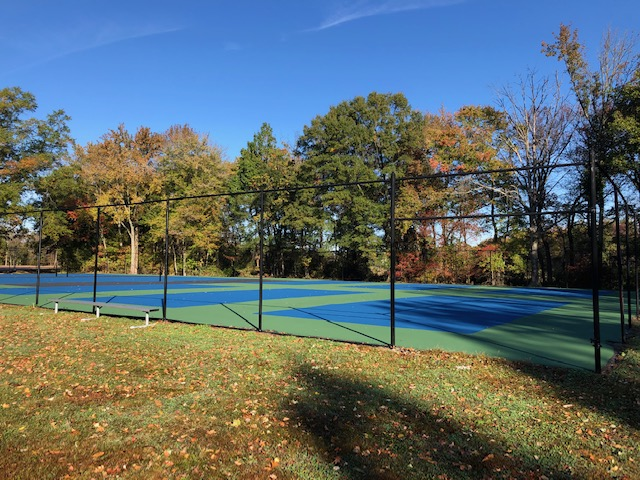Pickle Ball courts and Tennis Court 4