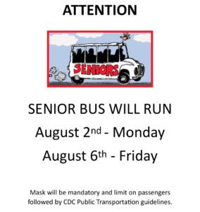Runnemede Senior Bus