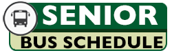 Senior Bus Schedule